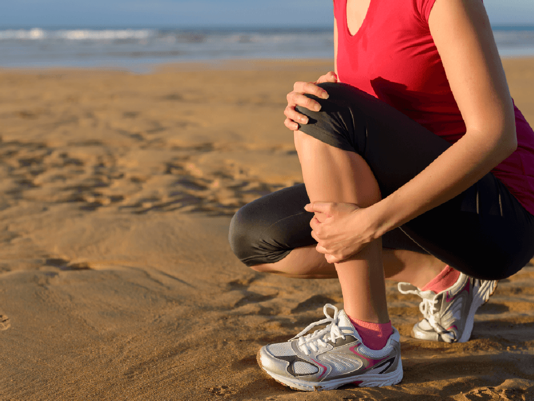 Что делать, если заболела надкостница (кость спереди ниже колена)