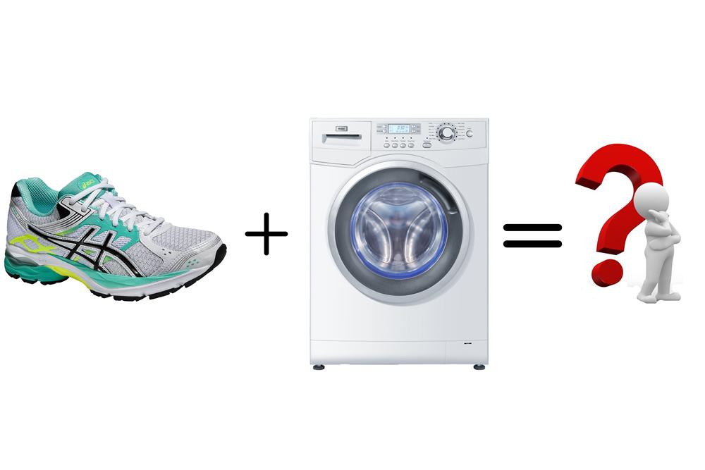 Как стирать кроссовки